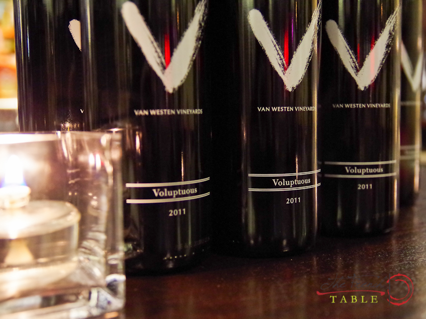 Van Westen Winery Dinner, Nov. 12th
