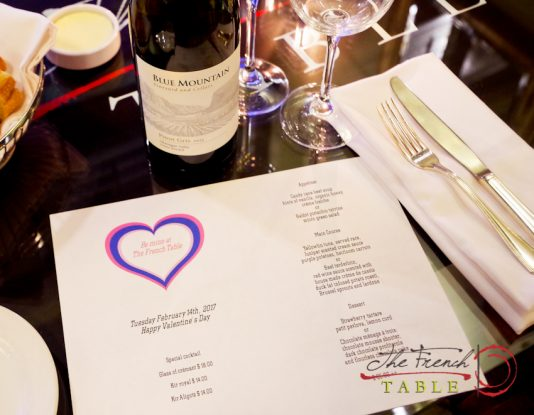 Have An Amazing Valentine S Day Dinner At The French Table The