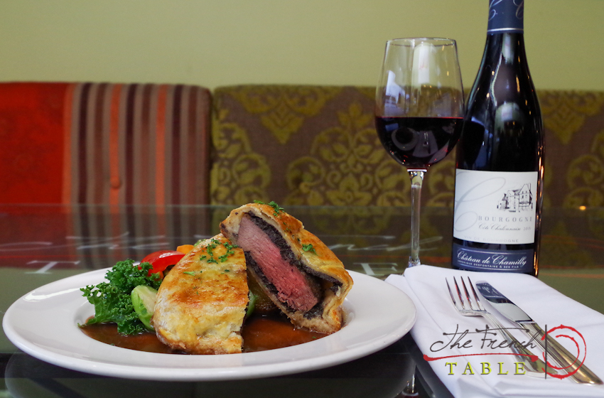 beef wellington for two vancouver