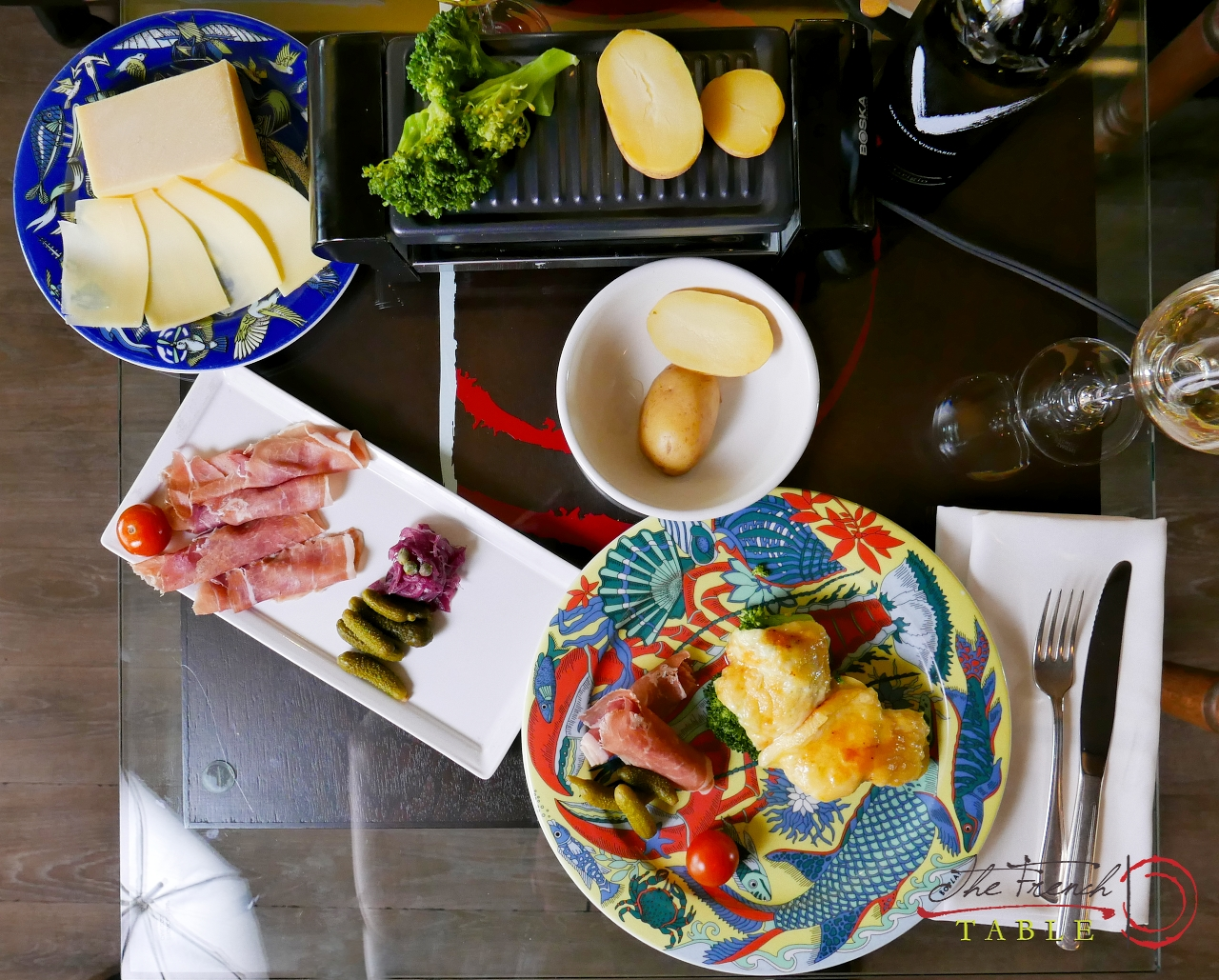 cheese raclette in Vancouver