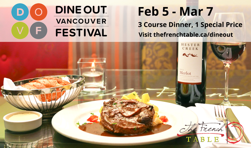 Dine Out At The French Table