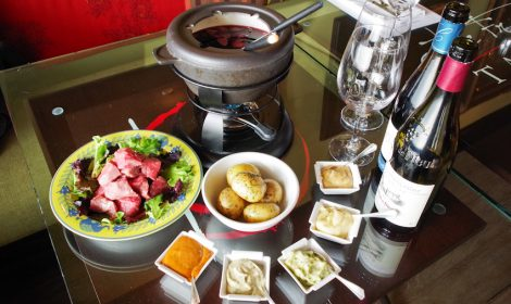 french burgundy fondue